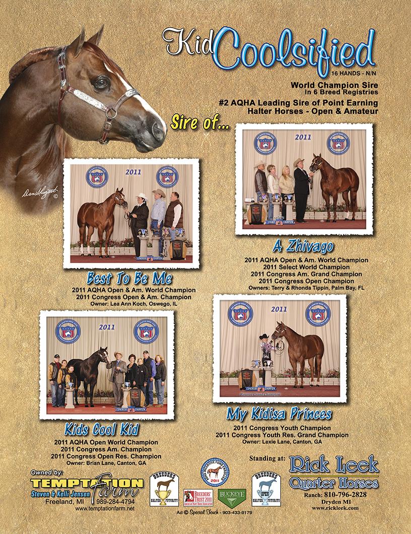 Kid Coolsified - Rick Leek Quarter Horses